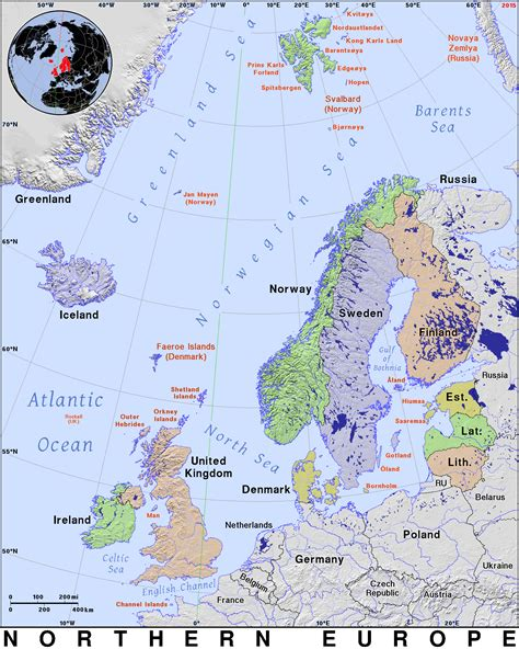 map northern europe countries northern europe 183 domain maps by pat the free