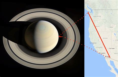 images from nasa s cassini probe show saturn s polar