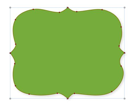 Fancy Card Shape Template by Fancy Shapes For Photoshop Clipart Best