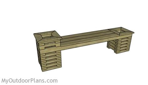 planter bench plans diy planter bench plans myoutdoorplans free