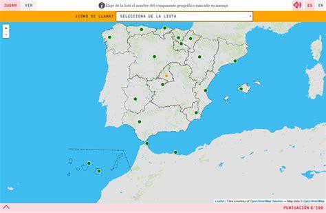 layout map español mapa espana image collections diagram writing sle