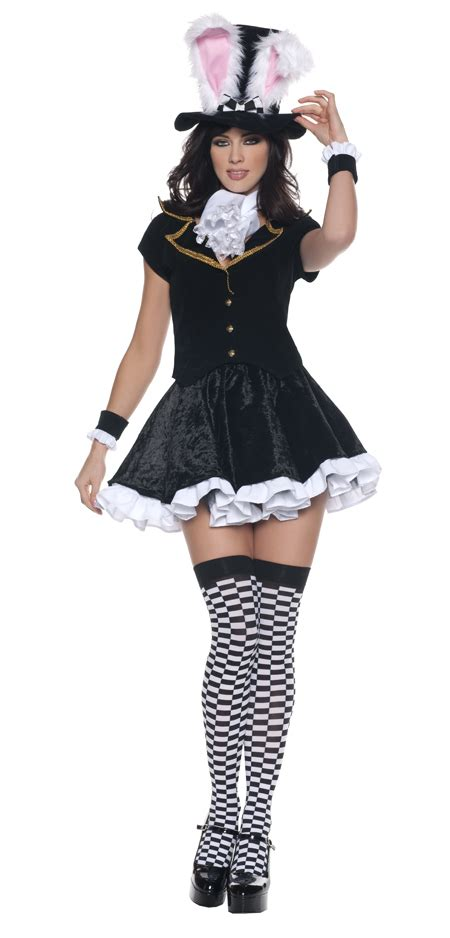 Women's Mad Hatter Costume - Adult Costumes Female Mad Hatter Costume