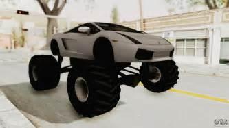 lamborghini gallardo 2005 monster truck gta san andreas