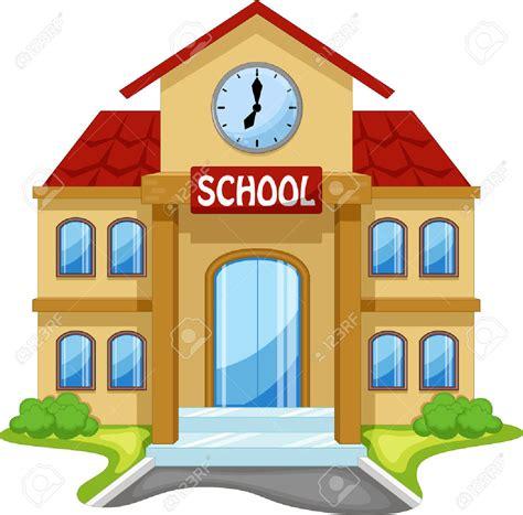 imagenes animadas de una escuela 41721908 edificio de la escuela de dibujos animados foto