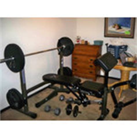 body vision bench body vision 1128 olympic style weight bench set dumbbe