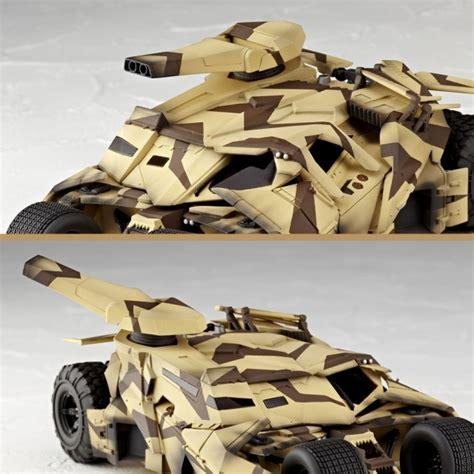 Revoltech Sci Fi Batman Bane Tumbler Cannon Camo revoltech batmobile tumbler cannon collectiondx