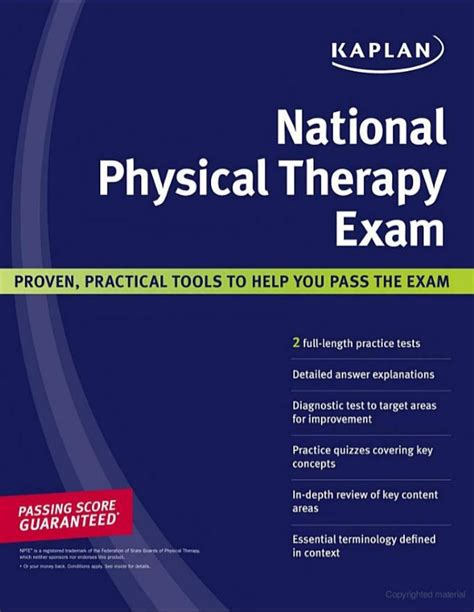 kaplan national physical therapy by bethany chapman fratia