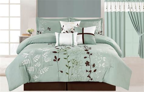 teal brown and white bedroom teal turquoise blue white and brown floral pattern cotton