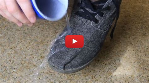 how to make shoes how to make your shoes waterproof a simple shoe