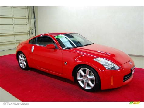red nissan 2008 2008 nogaro red nissan 350z touring coupe 46869523