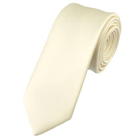 plain ivory 6cm tie from ties planet uk