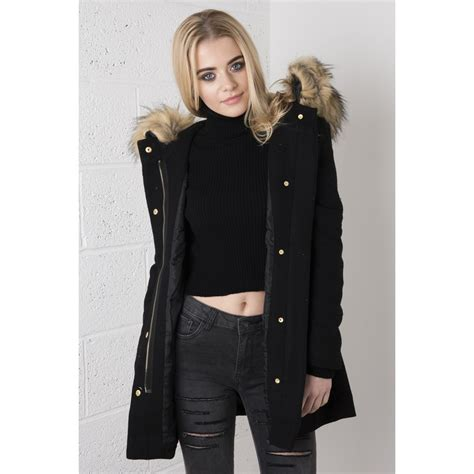 Parka Black by Black Parka Coat With Fur Fashion S Coat 2017