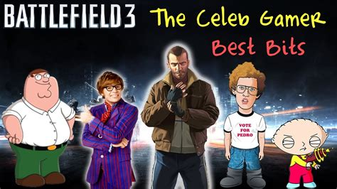 jayuzumi the celeb gamer the celeb gamer battlefield 3 best bits so far youtube