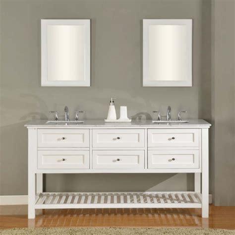 70 Inch Bathroom Vanities Direct Vanity Sink Mission Spa Collection 70 In Bathroom Vanity White Sink