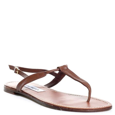 brown sandals for steve madden seeri sandal in brown lyst
