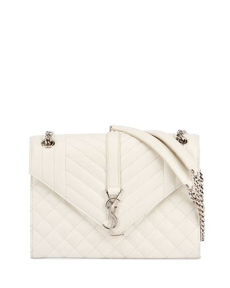 saint laurent  flap monogram ysl medium envelope shoulder