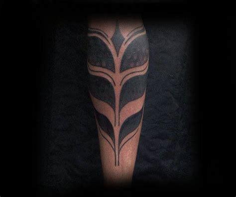 lower leg tattoo for men 60 tribal leg tattoos for cool cultural design ideas
