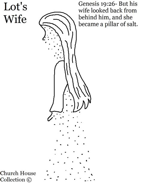 lot s wife pillar of salt sunday lesson