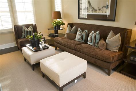 Living Room Ottoman Coffee Table 47 Beautiful Living Rooms With Ottoman Coffee Tables