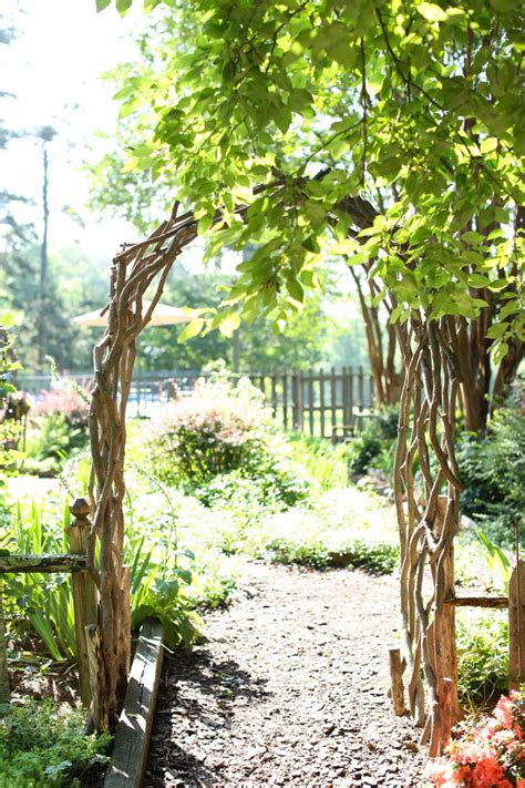 Wedding Arbor Rustic by Rustic Wedding Arbor Elizabeth Designs The Wedding