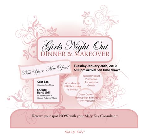 mary kay party invitations joy studio design gallery