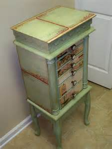 Custom Made Jewelry Armoire Repurposed Jewelry Armoire Custom Made To By