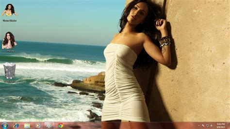 hot themes pc sexy megan fox theme for windows 7 8 8 1 10