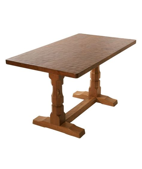 solid oak refectory dining table ta070 shop