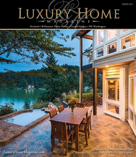 luxury home magazine vancouver sw washington luxury luxury home magazine of oregon sw washington 13 5 by