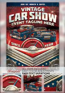 Car Show Flyer Template by 17 Car Show Flyer Templates Free Psd Ai Eps Format