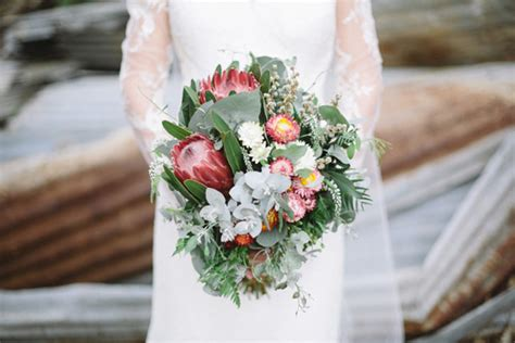 Country Western Home Decor australian native wedding bouquet image 406354 polka