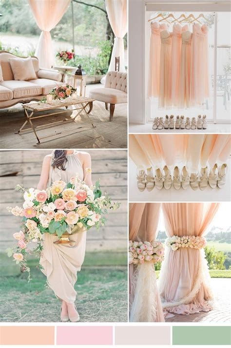 colour schemes for weddings top 5 neutral wedding color combos ideas 2015 tulle