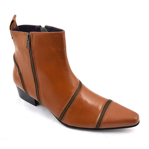 buy mens cuban heel boot gucinari mens heels