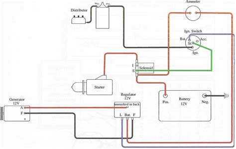 ford 8n wiring diagram 6 volt wiring diagram with