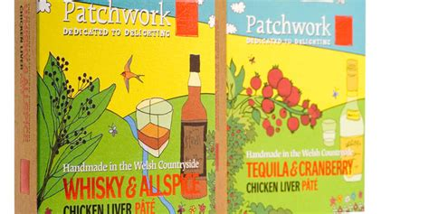 Patchwork Pate - patchwork pate the dieline packaging branding design