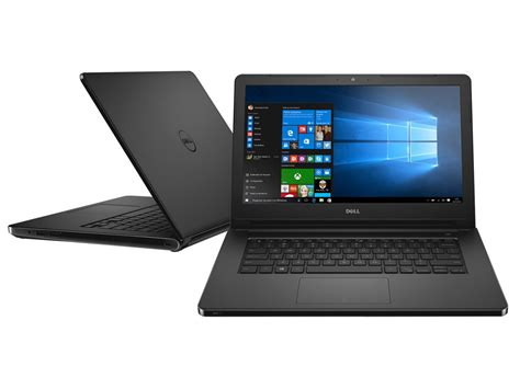 Laptop Dell Inspiron 14 I3 notebook dell inspiron 14 i14 5458 b08p intel i3 4gb 1tb led 14 quot windows 10 notebook dell