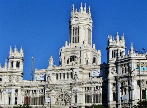 oficina correos cibeles fotos palacio de cibeles viajar a madrid