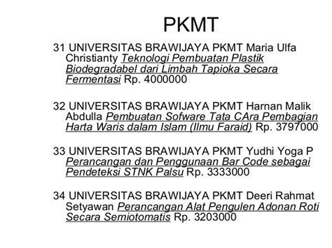format proposal pkm teknologi contoh judul pkm ai dan gt shoe susu