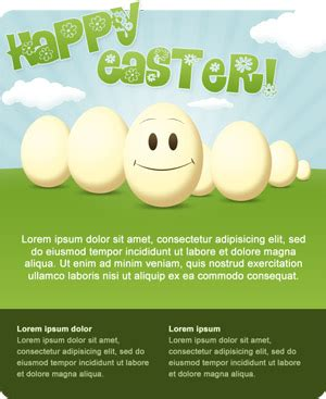 easter email templates roundup of easter 2012 resources tutorials