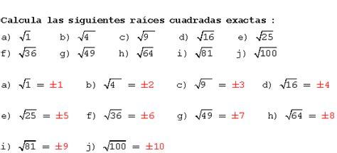 ejercicio de la raiz cuadrada ra 237 z cuadrada 237 culos y libros ra 237 ces
