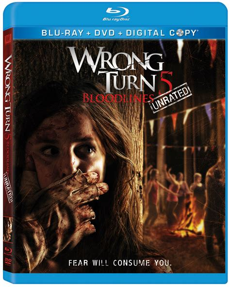 film horor wrong turn 5 dvd blu ray releases october 23rd 2012 bad movie nite