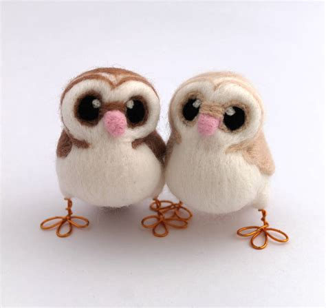 Mini Owl 2 mini owl wedding cake topper by feltmeupdesigns notonthehighstreet