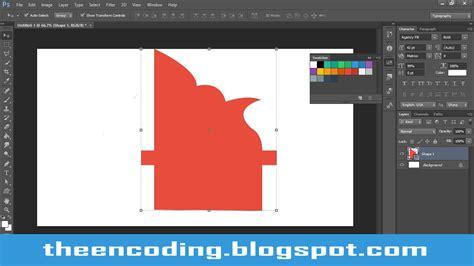 cara membuat garis di photoshop cc tutorial cara membuat shape sendiri di photoshop cs3 cs4