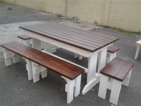 Patio Table With Bench Restaurant Furniture Outdoor Benches Patio Commercial Benches