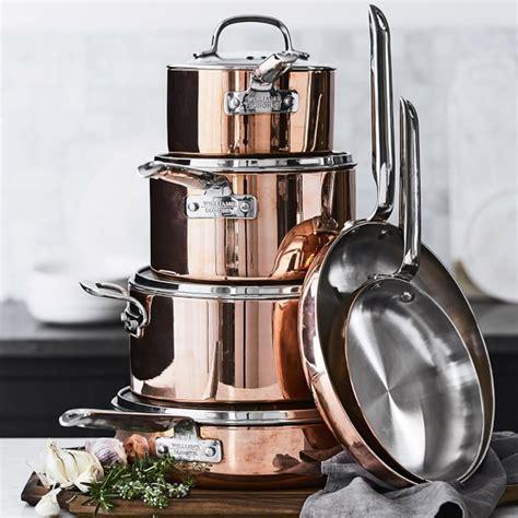 Williams Sonoma Gift Card Pin - williams sonoma professional copper 10 piece cookware set williams sonoma