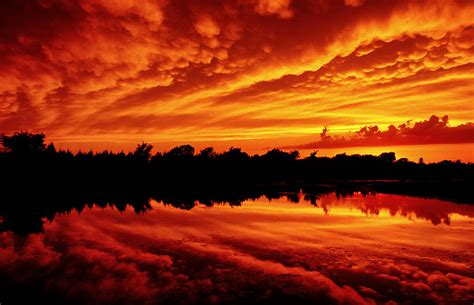 Create App Online fire in the sky photograph by jason politte