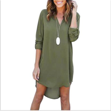 Autumn Casual Dress 25 3xl 2017 new fashion autumn dress green v neck plus size casual dresses sleeve