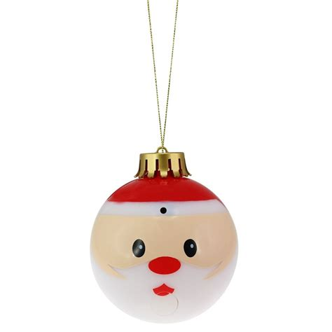 buy singing christmas bauble at pinksumo com