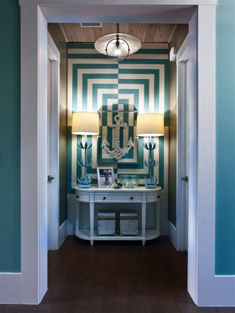 turquoise foyer contemporary entrance foyer sherwin williams drizzle hgtv