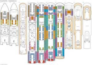 p o cruises oceana deck plan oceana deck plans diagrams pictures